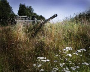 Photo of an army tank